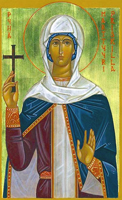 Santa Priscila